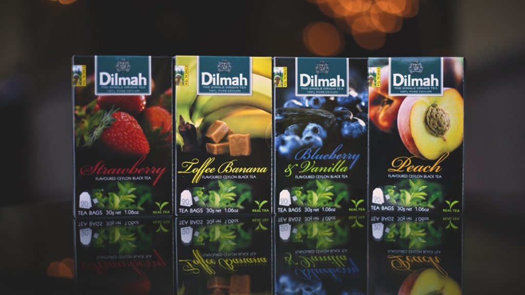 Dilmah Tea is a Sri Lankan tea brand sold internationally.