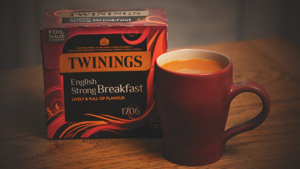 Twinings Tea is the best tea in the world and it comes in various flavours.