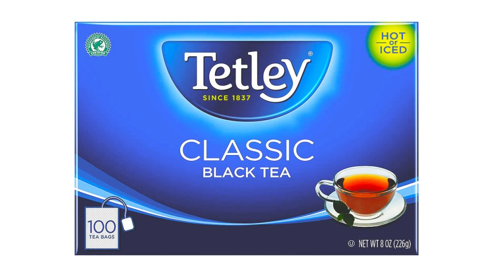 Tetley Tea is a tea brand of TATA company.