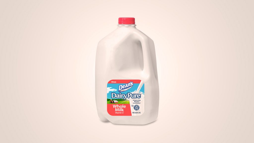Dean's Milk is one of the top selling milk brands in America.