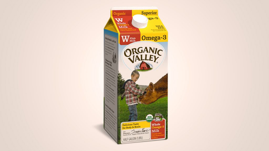 Organic Valley is one of the best organic milk brand.