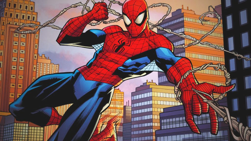 Spider-man or Peter Parker is a research assistant who fights crime under his secret identity.