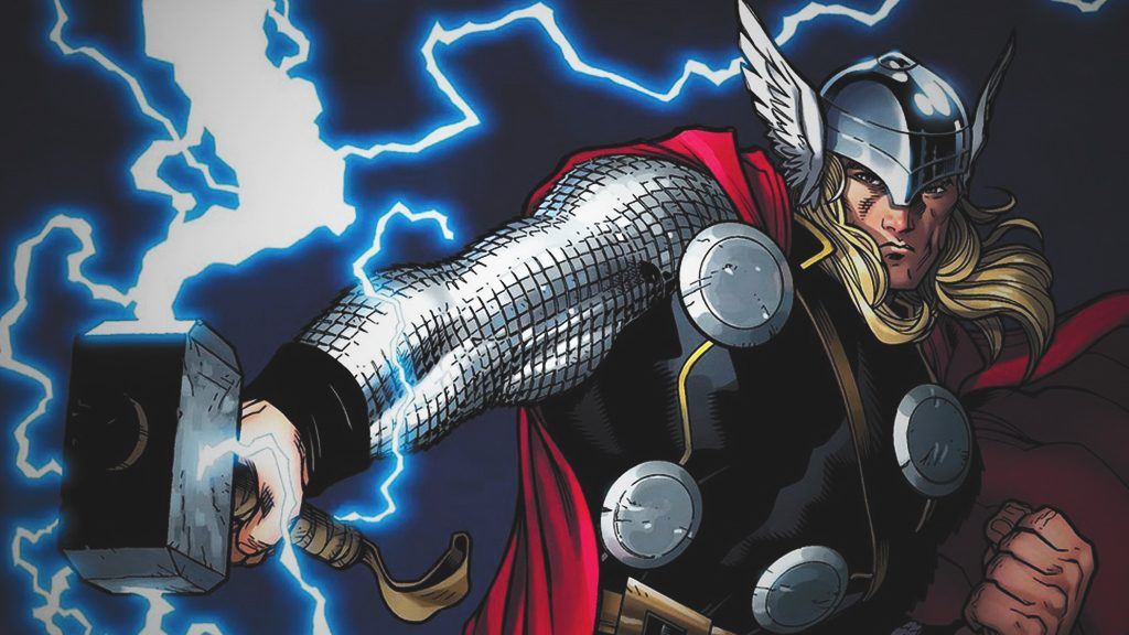 Thor Odinson, son of Odin is the Asgardian God of Thunder.