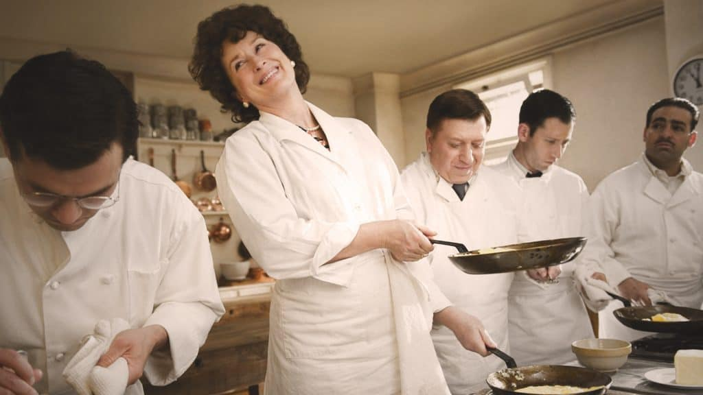 Julie & Julia is in the list of top 10 best movies about cooking.