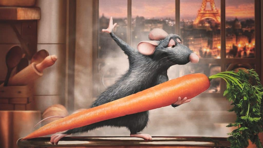 Ratatouille is the best animated cooking movie.