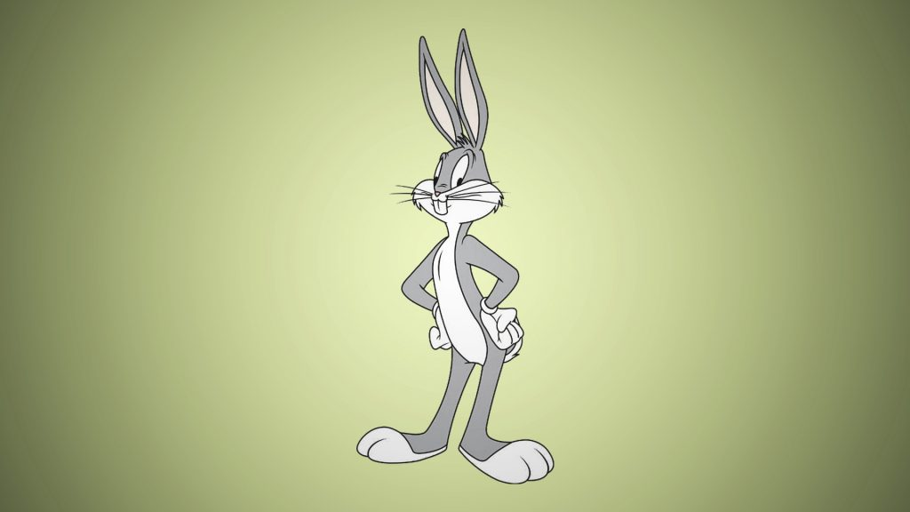 Bugs Bunny is the popular cartoon character from the Loonet Tunes animated series.